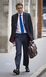 © Licensed to London News Pictures. 12/08/2021. London, UK. Education Secretary GAVIN WILLIAMSON arrives at The Department for Education in Westminster, London on the morning that GCSE exam results are released. Photo credit: Ben Cawthra/LNP