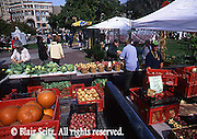 Summer Outdoor Market, Market Square, Wilkes Barre, Luzerne Co., PA