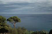 View out towards the Mediterranean Sea on 16th September 2017 in Bastia, Corsica, France. Bastia is a French commune in the Haute-Corse department of France located in the north-east of the island of Corsica at the base of Cap Corse. Bastia is the principal port and commercial town of the island. The inhabitants of Bastia are known as Bastiais or Bastiaises.