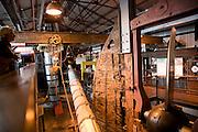 Interior of museum, SS Great Britain maritime museum, Bristol, England