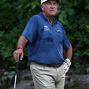 Ken Duke, USA, in action during the first round of the Travelers Championship at the TPC River Highlands, Cromwell, Connecticut, USA. 19th June 2014. Photo Tim Clayton