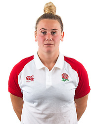 Meg Jones of England Rugby 7s - Mandatory by-line: Robbie Stephenson/JMP - 17/09/2019 - RUGBY - The Lansbury - London, England - England Rugby 7s Headshots
