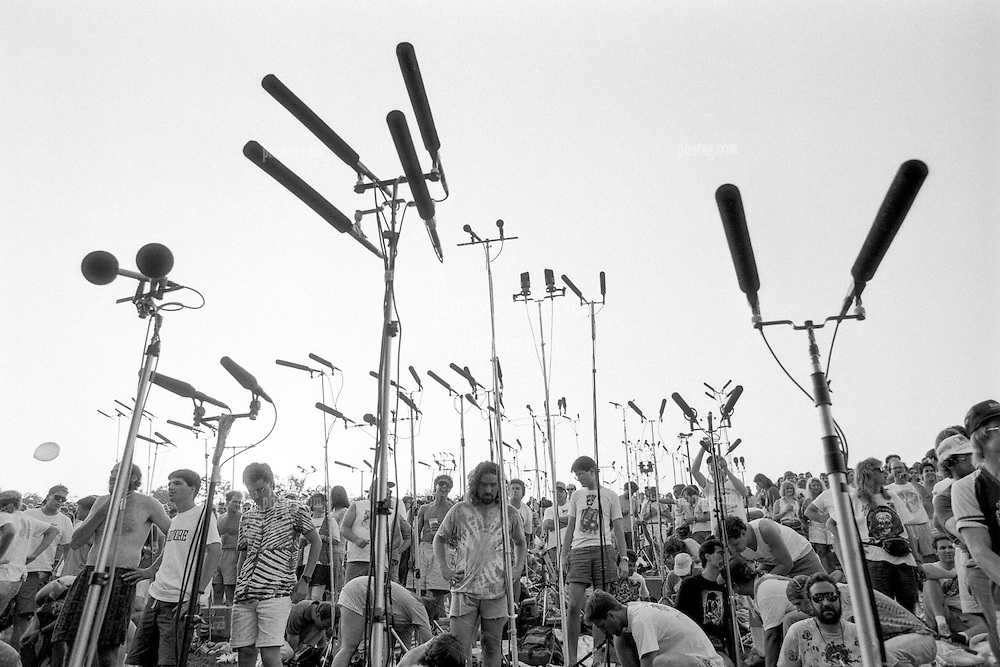 The Tapers Scene from The Grateful Dead Concert at Pine Knob Music Theatre, Clarkston, MI on 19 June 1991