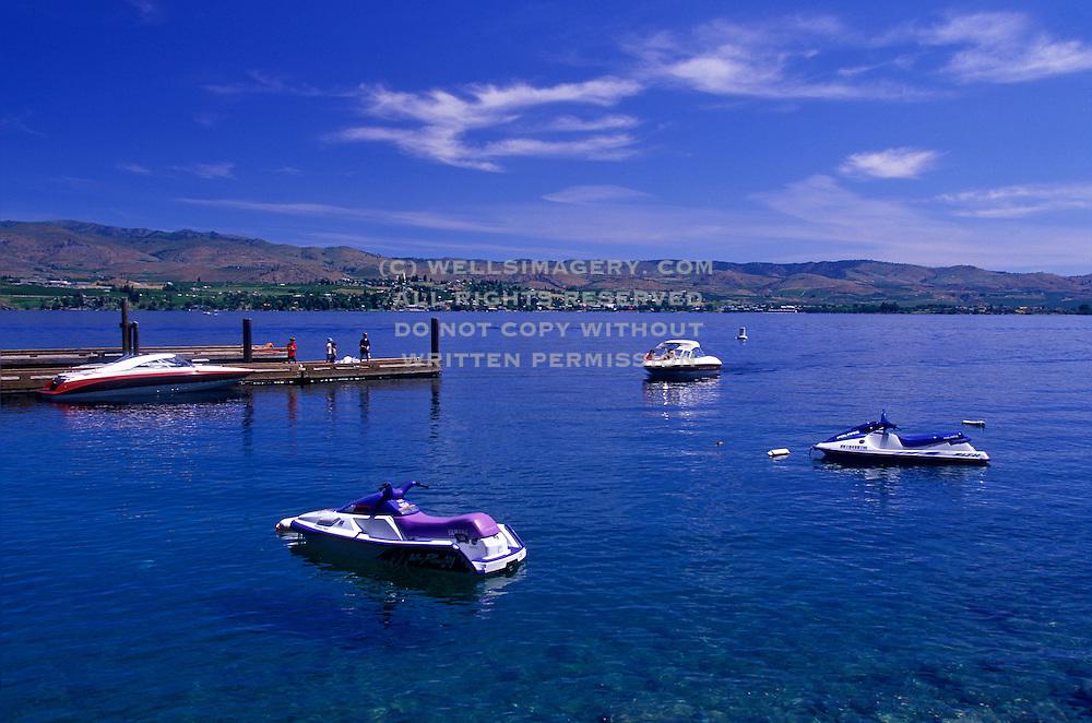 Image of Lake Chelan, Washington, Pacific Northwest by Randy Wells