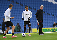 Football - 2020 / 2021 Premier League - Brighjton & Hove Albion vs West Hame United - Amex Stadium<br /> <br /> West Ham United manager David Moyes during the pre-match warm-up.<br /> <br /> COLORSPORT