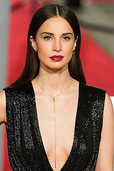 © Licensed to London News Pictures. 14/02/2016. London, UK. HEIDA REED arrives on the red carpet at the EE British Academy Film Awards 2016 Photo credit: Ray Tang/LNP