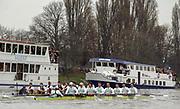 Photo. © Peter Spurrier/Intersport -Images<br /> Sun 28/03/2004  - Varsity Boat Race