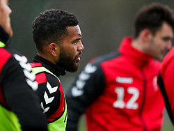 Adrian Mariappa of Bristol City during a training session ahead of the FA Cup game with Portsmouth - Rogan/JMP - 07/01/2021 - Failand - Bristol, England.