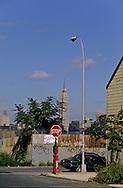 New York. Brooklyn. Le skyline de Manhattan view from Brooklyn  New york  Usa /   Le skyline de Manhattan vu depuis Brooklyn