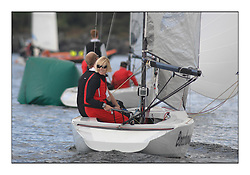 The Brewin Dolphin Scottish Series, Tarbert Loch Fyne...Shirley Robertson sailing Baccanalia in the RS Elite fleet.Credit : Marc Turner / CCC.For further information contact.Lorraine Alonzi..Mobile : 07947 799 451.Email : lorraine.alonzi@smarts.co.uk.