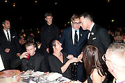 BEN DREW; ( PLAN B ); GEORGIE ATHERTON; SIR ELTON JOHN; DAVID FURNISH; , Grey Goose Winter Ball to Benefit the Elton John AIDS Foundation. Battersea park. London. 29 October 2011. <br /> <br />  , -DO NOT ARCHIVE-© Copyright Photograph by Dafydd Jones. 248 Clapham Rd. London SW9 0PZ. Tel 0207 820 0771. www.dafjones.com.