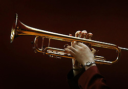 EMBARGOED TO 0001 MONDAY APRIL 15 File photo dated 12/01/12 of a student playing a trumpet. A lack of music education in schools is widening the knowledge gap between advantaged and disadvantaged students, an expert has said.