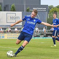 01.08.2020, C-Team Arena, Ravensburg, GER, WFV-Pokal, FV Ravensburg vs SSV Ulm 1846 Fussball, <br /> DFL REGULATIONS PROHIBIT ANY USE OF PHOTOGRAPHS AS IMAGE SEQUENCES AND/OR QUASI-VIDEO, <br /> im Bild Manuel Geiselhart (Ravensburg, #13)<br /> <br /> Foto © nordphoto / Hafner