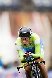 September 20, 2017 - Bergen, NORWAY - 170920 Primoz Roglic of Slovenia competes during the Men Elite Individual Time Trial on September 20, 2017 in Bergen..Photo: Jon Olav Nesvold / BILDBYRN / kod JE / 160023 (Credit Image: © Jon Olav Nesvold/Bildbyran via ZUMA Wire)