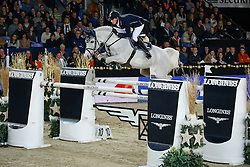 Deusser Daniel (GER) - Cornet D Amour winner of the Longines FEI World Cup <br /> presented by Land Rover<br /> Vlaanderens Kerst Jumping Mechelen 2013<br /> © Dirk Caremans