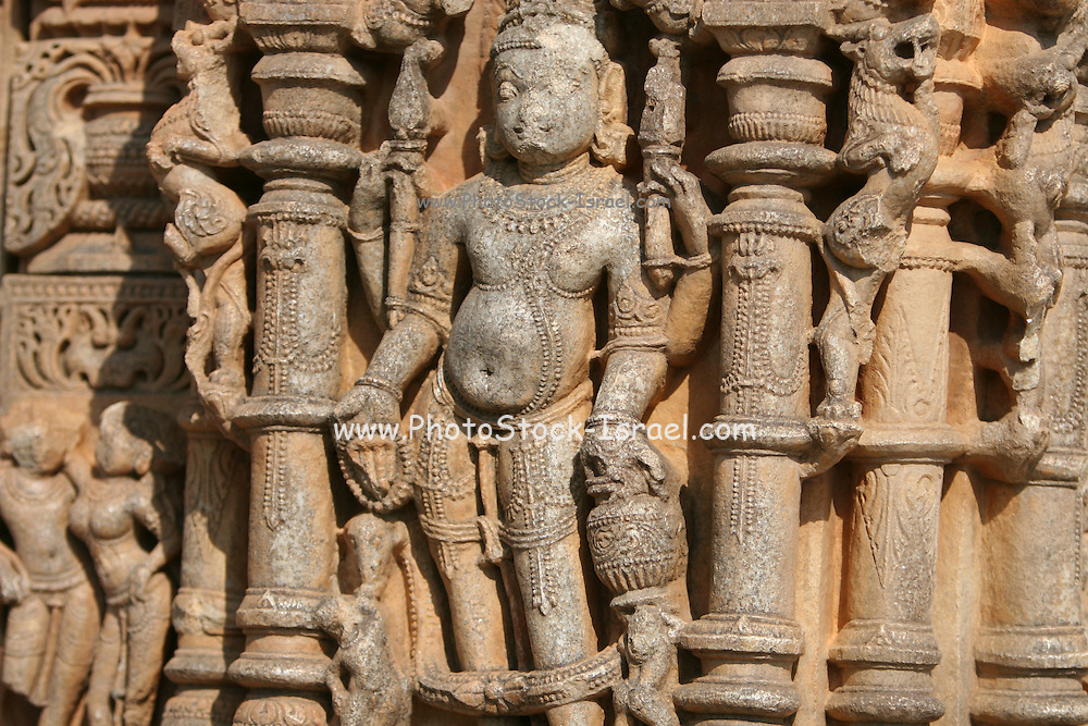 India, Religious art,  Laksmana temple wall erotic scene