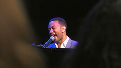August 19, 2017 - Minneapolis, Minn, USA - United States - Grammy-winning musician John Legend performed at a Big Brother/Big Sister event at the Fine Line Music Cafe in Minneapolis.]  Shari L. Gross • shari.gross@startribune.com     Grammy-winning pop/R&B music star John Legend made a surprise appearance at a Big Brothers Big Sisters of the Greater Twin Cities event at the Fine Line Music Cafe in Minneapolis, Minn. on Saturday, August 19, 2017. (Credit Image: © Shari L. Gross/Minneapolis Star Tribune via ZUMA Wire)