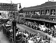 """The Auburn Day fete claims the title, """"Oldest Celebration in the State."""" (John T. Closs / The Seattle Times, 1947)"""
