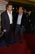 """STEVE COOGAN AND ROB BRYDON<br />. UK Premiere of """"A Cock And Bull Story"""" at Cineworld Cinemas, Haymarket  AND AFTERWARDS AT SOHO HOUSE.  The film by director Michael Winterbottom is a literary adaptation of """"The Life And Opinions Of Tristram Shandy, GENTLEMAN. 16 January 2006. Gentleman ONE TIME USE ONLY - DO NOT ARCHIVE  © Copyright Photograph by Dafydd Jones 66 Stockwell Park Rd. London SW9 0DA Tel 020 7733 0108 www.dafjones.com"""