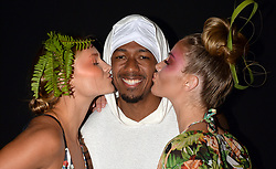 MIAMI, FL - JULY 20: Nick Cannon watches A model walk the runway during Mister Triple X fashion show at Miami Swim Week Art Hearts Fashion at FUNKSHION Tent on July 20, 2017 in Miami, Florida. 20 Jul 2017 Pictured: Nick Cannon. Photo credit: TBA / MEGA TheMegaAgency.com +1 888 505 6342
