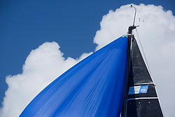 Lights winds dominated the Pelle P Kip Regatta  at Kip Marine weekend of 12/13th May 2018<br /> <br /> RC35 Class<br /> <br /> Images: Marc Turner