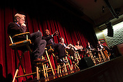 Jonathan Taplin, Director, USC Annenberg Innovation Lab, Ernest J. Wilson III, Dean, USC Annenberg School for Communication and Journalism, James Ingraham, Vice President Strategic Research, EPB, Amy Heibel, Associate VP of Technology and Digital Media at LACMA, Steven L. Canepa, General Manager Global Media and Entertainment, IBM, and Paul Bricault, Co-Founder/Managing Director of startup accelerator, Amplify.LA