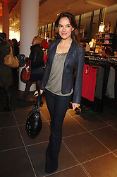 Actress SOPHIE WINKLEMAN at a party to celebrate the opening of the new H&M store at 234 Regent Street, London on 13th February 2008.<br /><br />NON EXCLUSIVE - WORLD RIGHTS