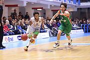 BRINDISI !(NOVEMBRE  2014<br /> BASKET EUROCUP Enel Brindisi Grissin Bon Reggio Emilia<br /> NELLA FOTO Adrian Banks<br /> FOTO CIAMILLO