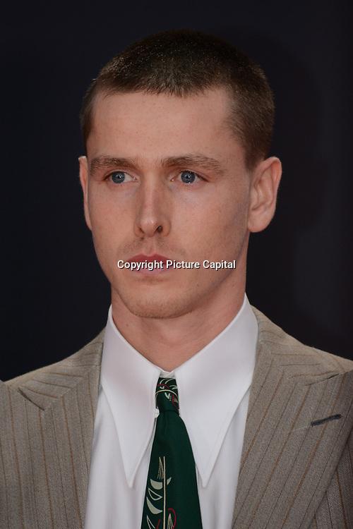Harris Dickinson arrives at The Souvenir Part II - BFI London Film Festival 2021 at Southbank Centre, Royal Festival Hall, London, 8 October 2021.