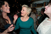 ELEANOR MATSUURA; AMANDA DREW; LUCY PREBBLE, Press night for the West End opening of ENRON.<br /> No'l Coward Theatre, St Martin's Lane, London WC2, afterwards: Asia De Cuba, St Martins Lane Hotel,  London. 25 January 2010<br /> ELEANOR MATSUURA; AMANDA DREW; LUCY PREBBLE, Press night for the West End opening of ENRON.<br /> Noël Coward Theatre, St Martin's Lane, London WC2, afterwards: Asia De Cuba, St Martins Lane Hotel,  London. 25 January 2010