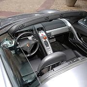 NLD/Amsterdam/20061111 - Huwelijk Christijan Albers en Liselore Kooijman, interieur Porsche