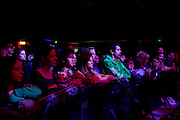 Fans watch as The Bright performs during Dallas Rocks at the House of Blues Friday, February 1, 2013 in Dallas, Texas. (Cooper Neill/The Dallas Morning News)