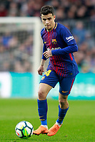 FC Barcelona's Philippe Coutinho during La Liga match. March 4,2018. (ALTERPHOTOS/Acero)
