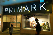 Primark in the city centre on 2021 on 23rd June 2021 in Coventry, United Kingdom. The company sources cheaply, using simple designs and fabrics in the most popular sizes and buys stock in bulk.