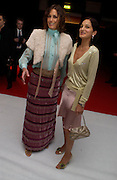 Yasmin le Bon and Yasmin Mills. The Moet & Chandon Fashion Tribute 2005 to Matthew Williamson,  Old Billingsgate market, London. 16th February 2005. ONE TIME USE ONLY - DO NOT ARCHIVE  © Copyright Photograph by Dafydd Jones 66 Stockwell Park Rd. London SW9 0DA Tel 020 7733 0108 www.dafjones.com