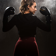 Photoshoot with Jessica Rangel at Grampa's Boxing Gym in Westminster, California on Dec 6th, 2017.  ©Michael Der Photography/ALL RIGHTS RESERVED.  All Images are available for a Rights Managed License and available through this site.  For any licensing questions, please contact Michael Der directly.  <br />   <br /> My Work is model released and officially registered With The US Copyright Office. Please Observe Professional Courtesy and The Copyright Law and Obtain a License for Use if Needed. Infringement is a Serious Issue and I Employ All Efforts to Protect My Work. Thank You!