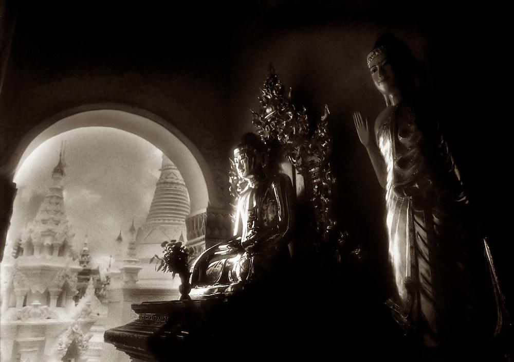 Shwedagon Shrine - Yangon, Myanmar.