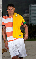 Fifa Brazil 2013 Confederation Cup / <br /> Brazil National Team - ( Sao Conrado Beach - Rio de Janeiro , Brazil ) -<br /> Thiago Silva ,  player of Brazil - Interview