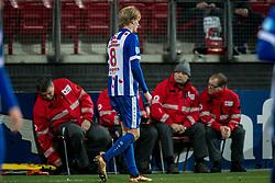 Morten Thorsby of sc Heerenveen during the Dutch Eredivisie match between AZ Alkmaar and sc Heerenveen at AFAS stadium on December 23, 2017 in Alkmaar, The Netherlands