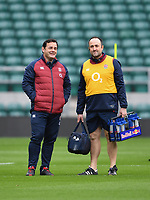 Rugby Union - 2020 Six Nations - England Open Training Session, Twickenham<br /> <br /> Former England captain Will Carling during the Open Training Session, at Twickenham Stadium<br /> <br /> COLORSPORT/ASHLEY WESTERN