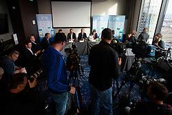 during press conference of Slovenian handball federation, Hotel Intercontinental, 17. December 2019, Ljubljana, Slovenia. Grega Valancic / Sportida