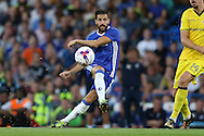 Cesc Fabregas of Chelsea in action. EFL Cup 2nd round match, Chelsea v Bristol Rovers at Stamford Bridge in London on Tuesday 23rd August 2016.<br /> pic by John Patrick Fletcher, Andrew Orchard sports photography.