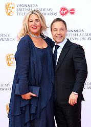 Hannah Walters and Stephen Graham attending the Virgin Media BAFTA TV awards, held at the Royal Festival Hall in London. Photo credit should read: Doug Peters/EMPICS