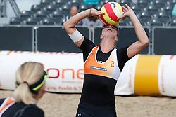 20140816 NED: NK Beachvolleybal 2014, Scheveningen<br /> Madelein Meppelink<br /> ©2014-FotoHoogendoorn.nl / Pim Waslander