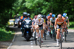 Boels Dolmans come to the fore with Lizzie Armitstead and Chantal Blaak at Boels Hills Classic 2016. A 131km road race from Sittard to Berg en Terblijt, Netherlands on 27th May 2016.