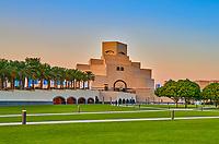 Doha ,Qatar -December 25 , 2019 : Museum of Islamic Art Doha Qatar