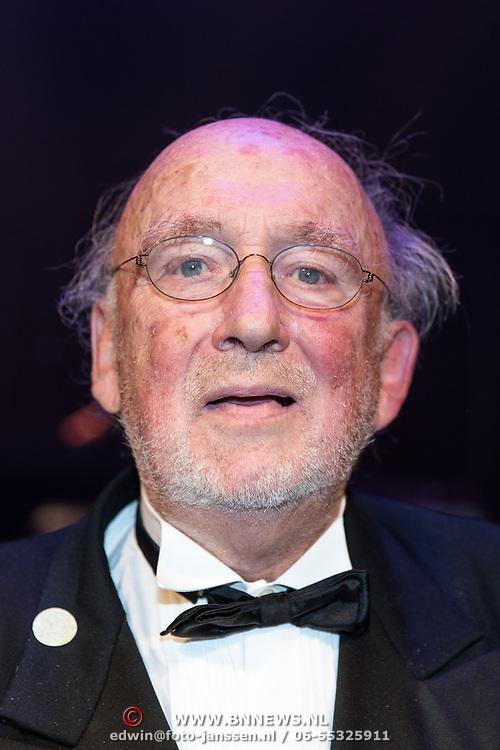NLD/Amsterdam/20170917 - Gala van het Nederlands Theater 2017, Hans Croiset, winnaar Louis d'Or 2017