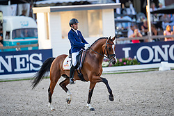 Garcia Mena José Antonio, ESP, Hip By Johnson<br /> World ChampionshipsYoung Dressage Horses<br /> Ermelo 2018<br /> © Hippo Foto - Dirk Caremans