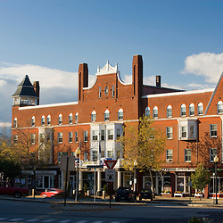 Downtown Claremont, New Hampshire.