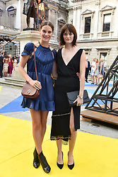 Charlotte Wiggins and Sam Rollinson at the Royal Academy Of Arts Summer Exhibition Preview Party 2018 held at The Royal Academy, Burlington House, Piccadilly, London, England. 06 June 2018.